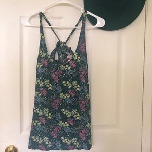 JUICY COUTURE FLORAL TANK TOP SIZE M